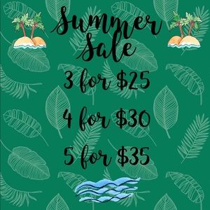 "Closet Summer Sale! *Look for the ""🌿"" emoji*"